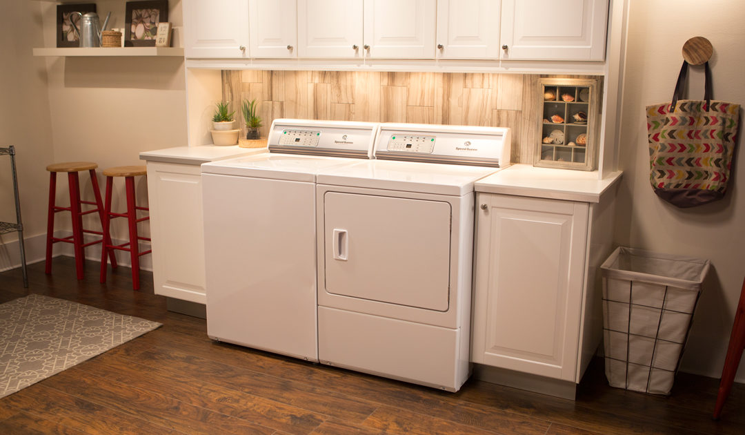 Commercial-grade Laundry Appliances for the Home
