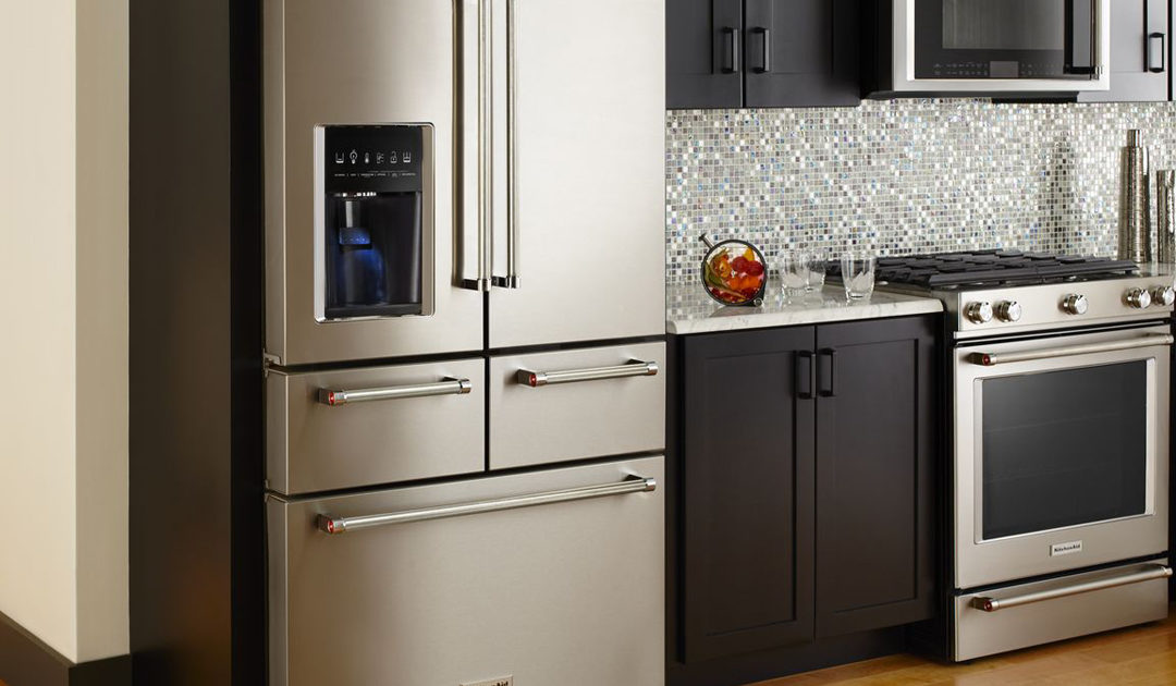KitchenAid's Five-Door Refrigerator: Perfect for Entertaining