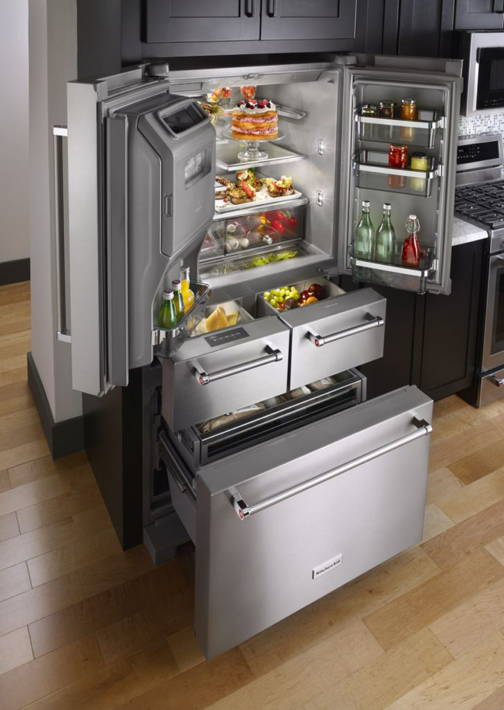 Kitchenaid S Five Door Refrigerator