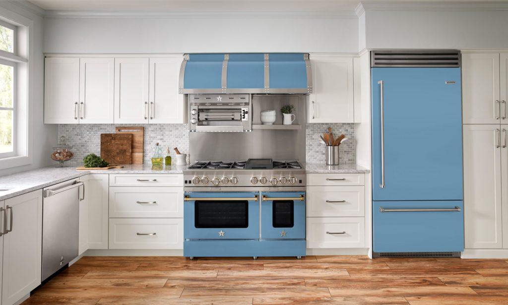 Savor the Seasons Winter Solstice BlueStar Full Kitchen Suite in Ice