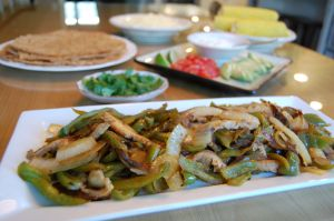 Pepper & Mushroom Fajita
