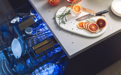 Thermador Takes Luxury to a New Level with Glass Care Center and Star Sapphire Dishwashers