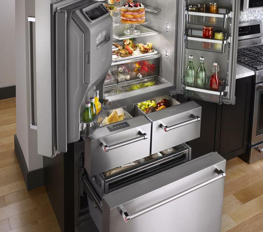 KitchenAid 5 drawer refrigerator