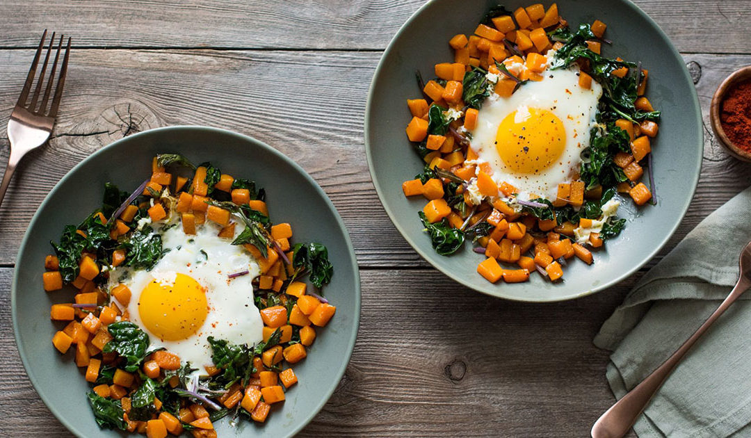 Butternut Squash & Kale Hash