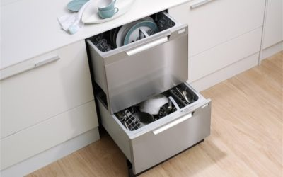 Drawer Dishwashers Offer Flexibility and Convenience