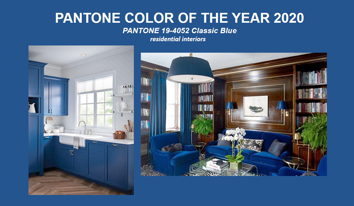 Classic Blue is Pantone's Color of the Year for 2020