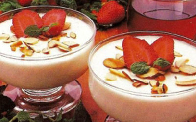 Celebrate Valentine's Day with Amaretto Cream