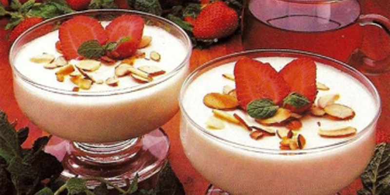 Celebrate Valentine's Day with Amaretto Cream