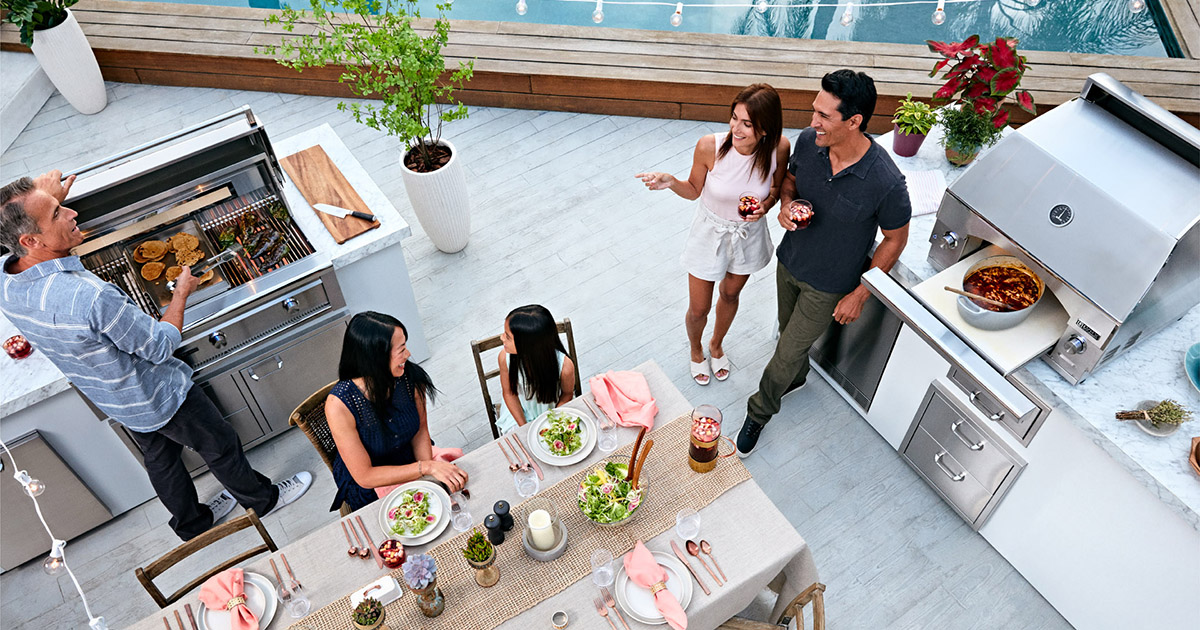 Outdoor Entertaining with Lynx Outdoor Kitchen