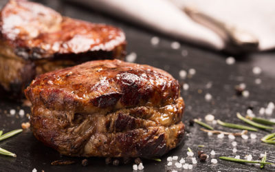 Filet Mignon with Pink Peppercorn Chimichurri Sauce