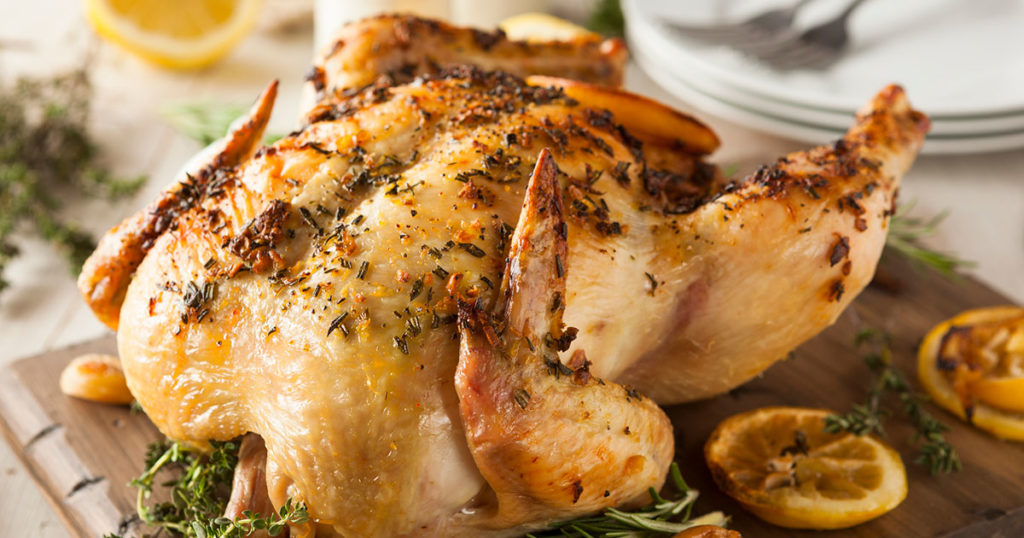 Rosemary and Lemon Roast Chicken