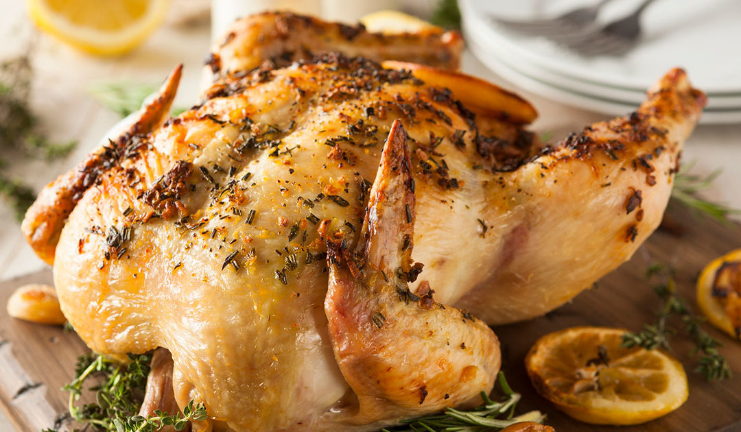 Rosemary and Lemon Roast Chicken