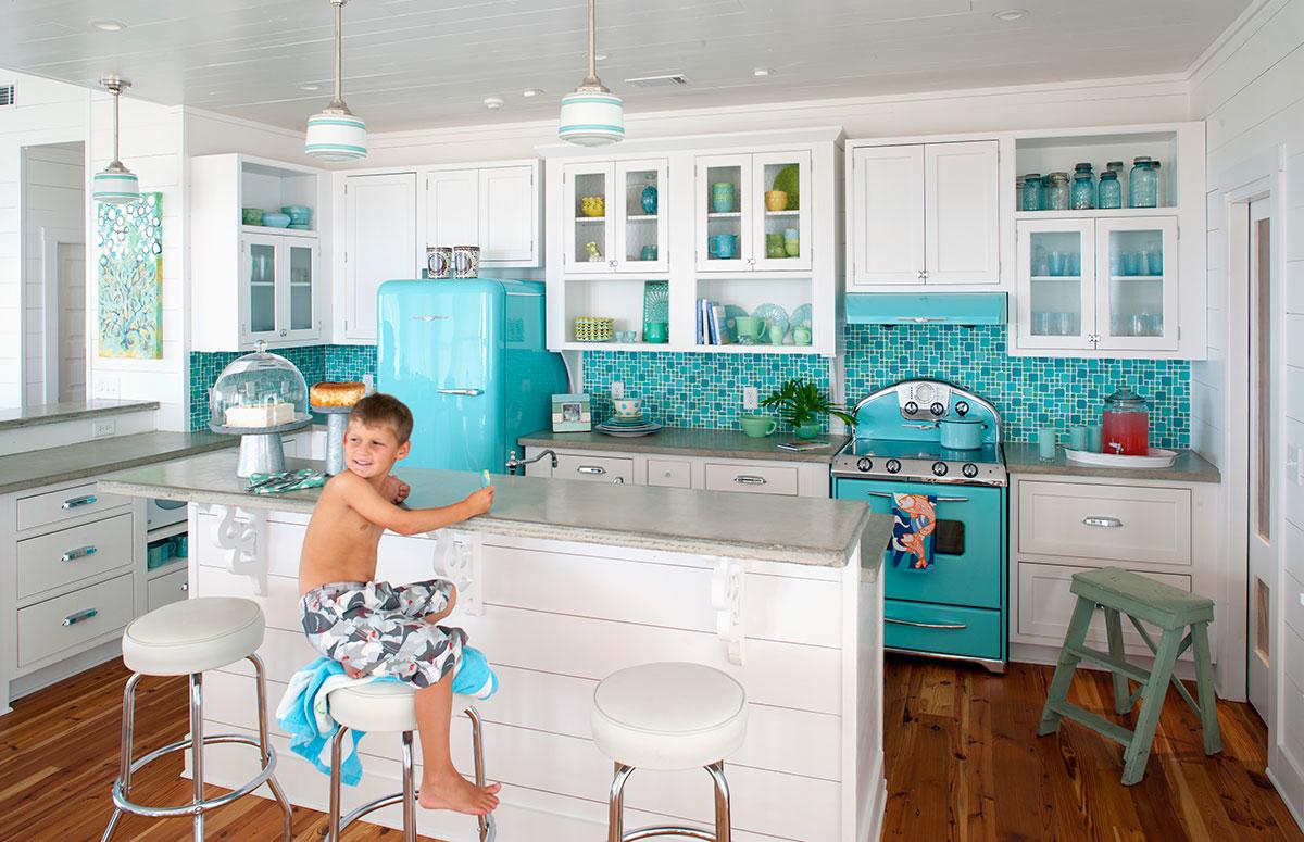 Northstar Blue Kitchen