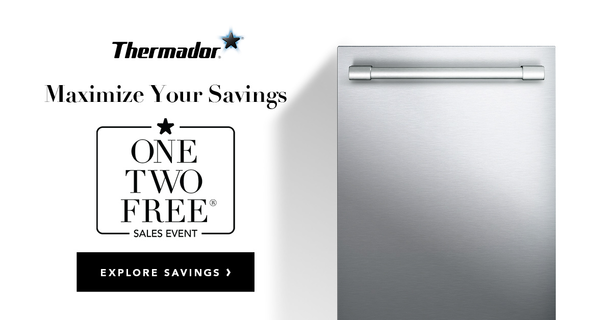 Thermador One Two Free Sales Event
