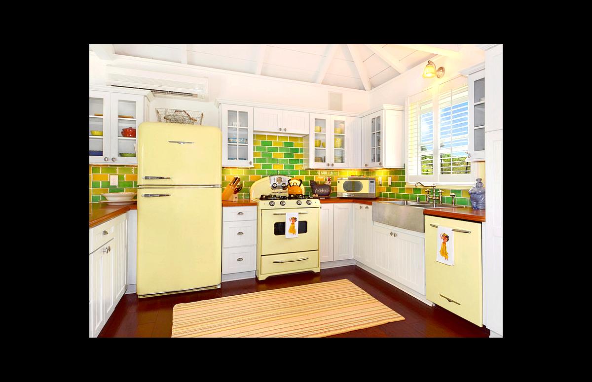 Yellow Northstar Kitchen