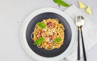 Fresh Linguine with Heirloom Tomato Sauce
