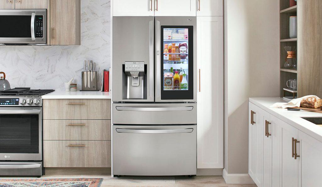 LG InstaView Door-in-Door with Craft Ice